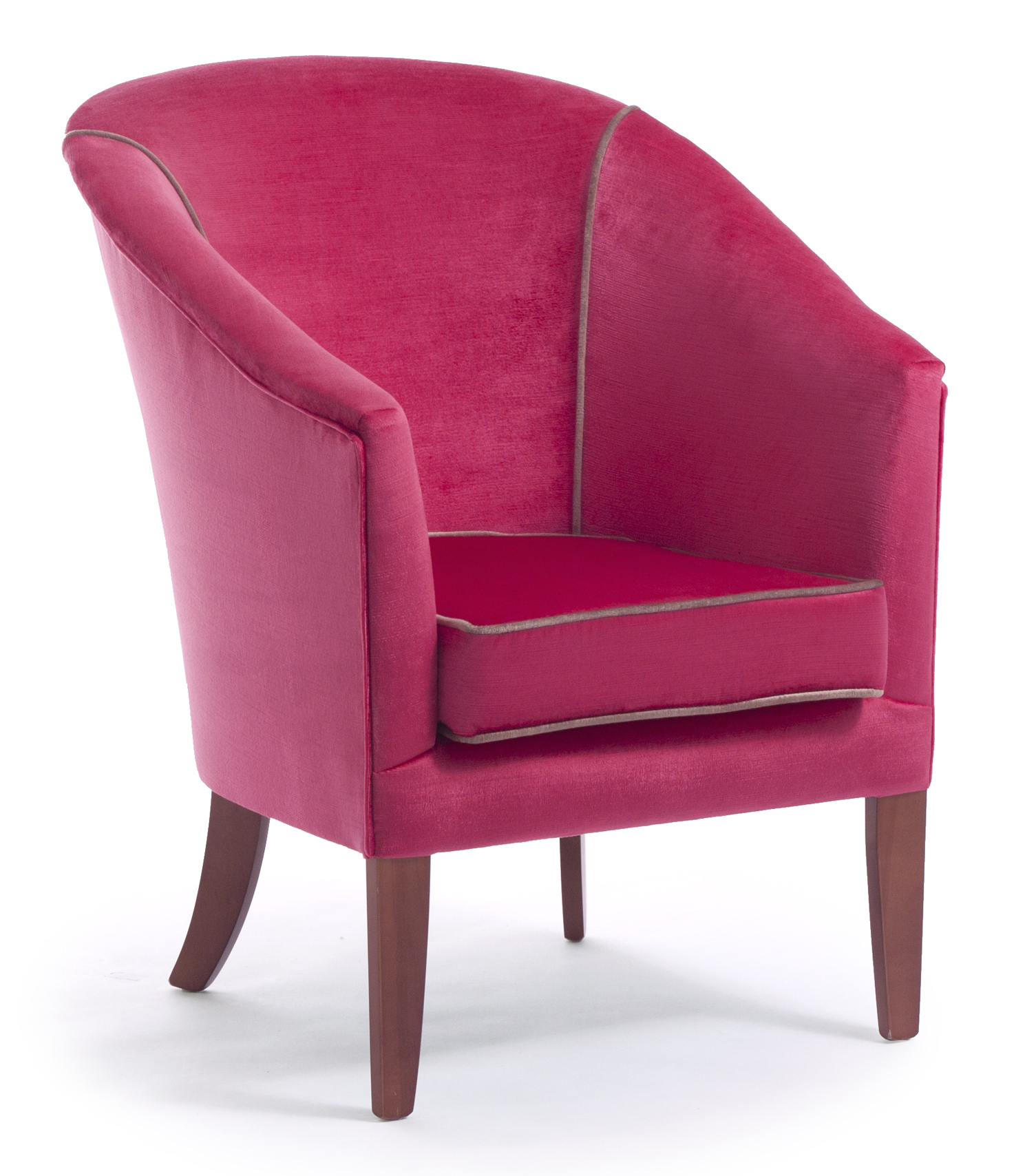 bianca shallow base tub chair cfs contract furniture solutions