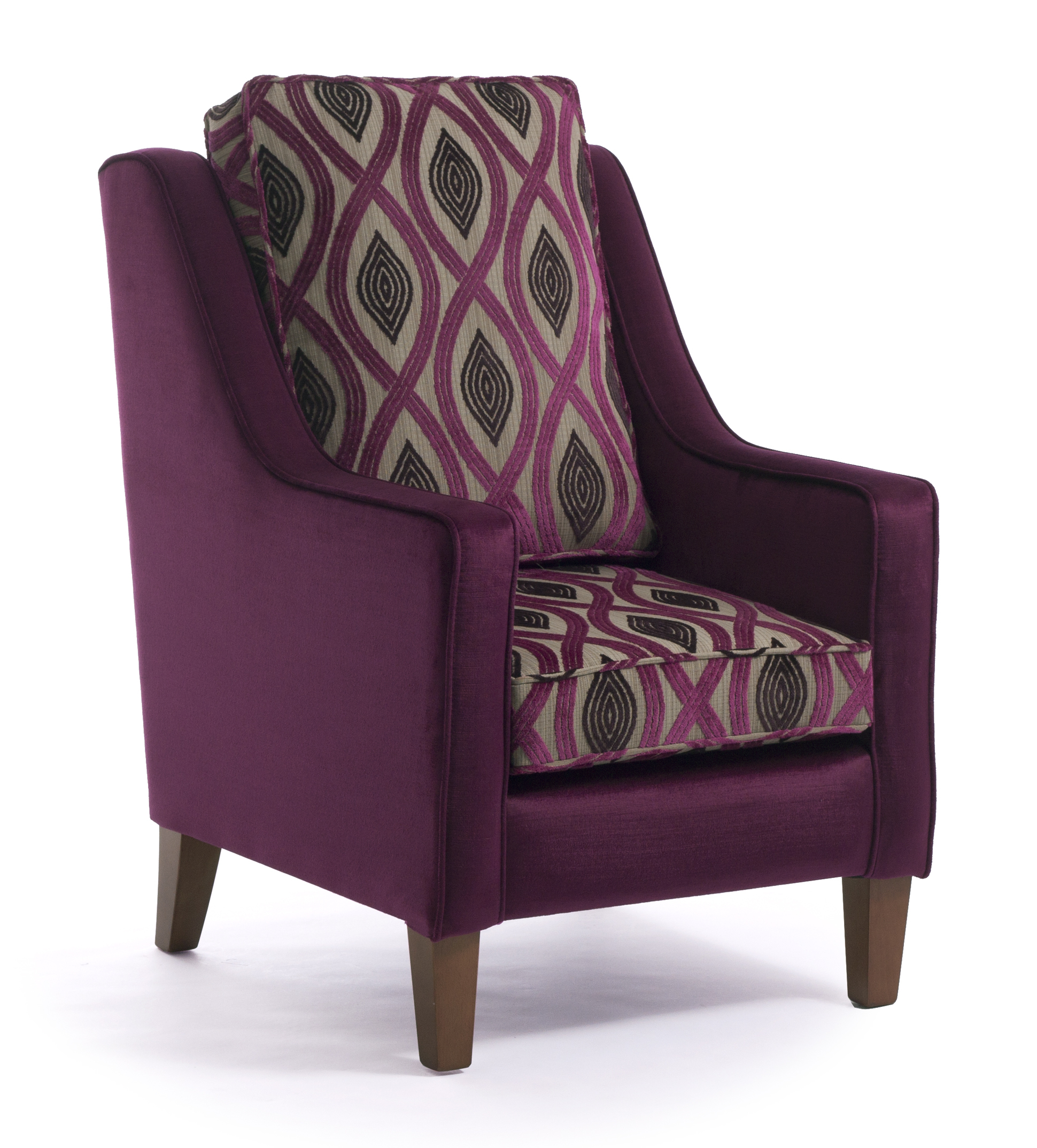 Grosvenor high back armchair cfs contract furniture for Armchair with high back
