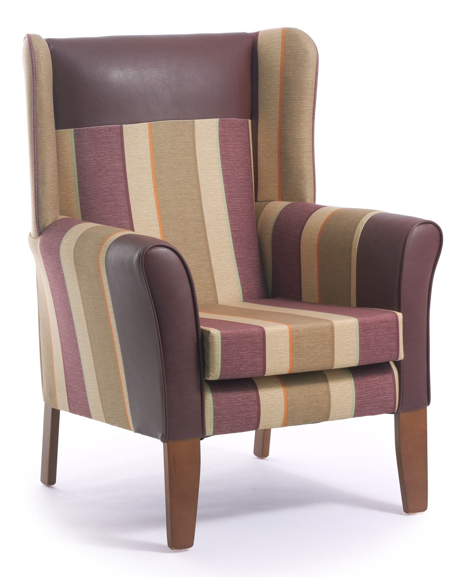 Sherwood High Back Armchair with Wings – CFS – Contract Furniture